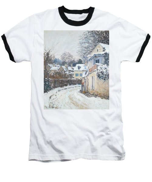 Road Louveciennes Baseball T-Shirt by Alfred Sisley