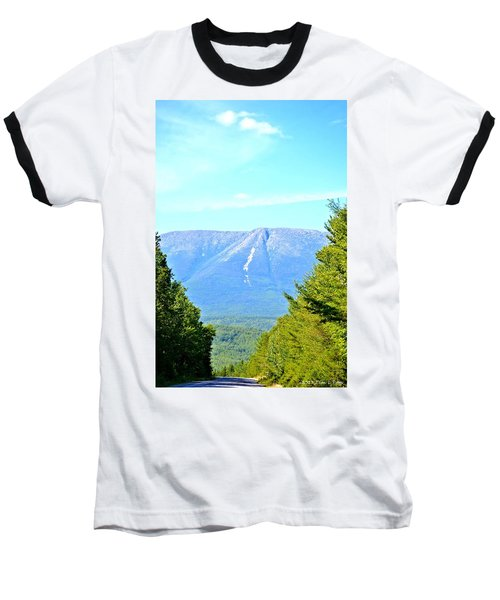 Road To Katahdin Baseball T-Shirt
