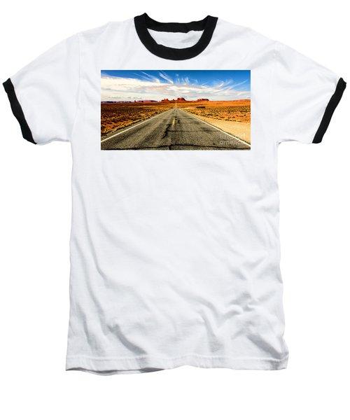 Road To Navajo Baseball T-Shirt