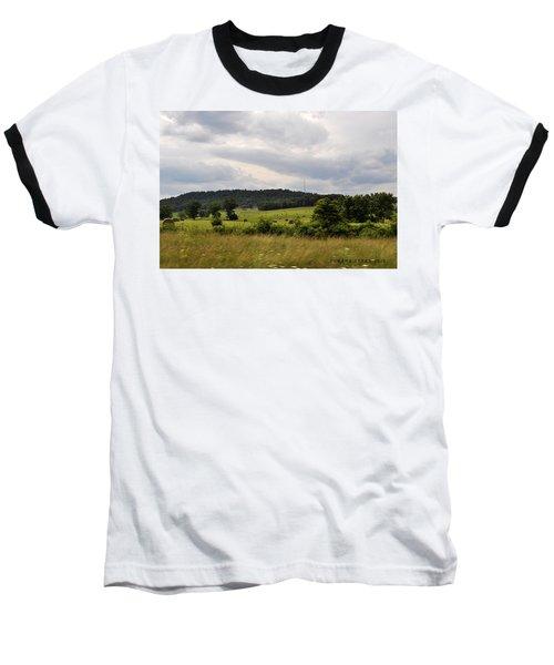 Baseball T-Shirt featuring the photograph Road Trip 2012 by Verana Stark