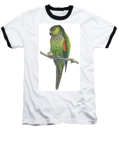 Rock Parakeet Baseball T-Shirt