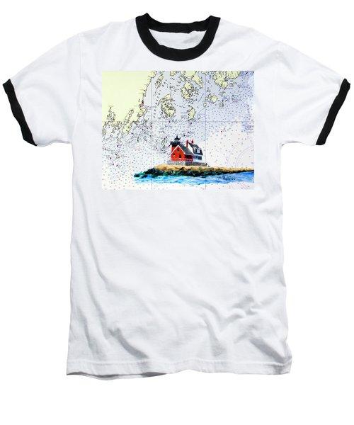 Rockland Breakwater Light Baseball T-Shirt