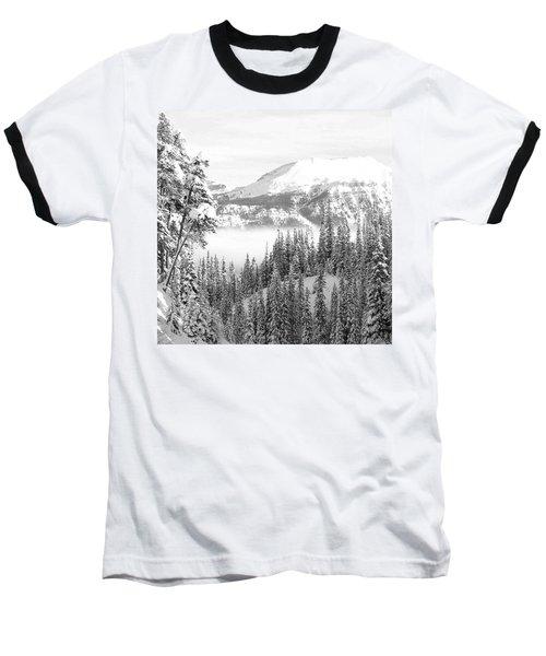 Rocky Mountain Vista Baseball T-Shirt by Cheryl Miller