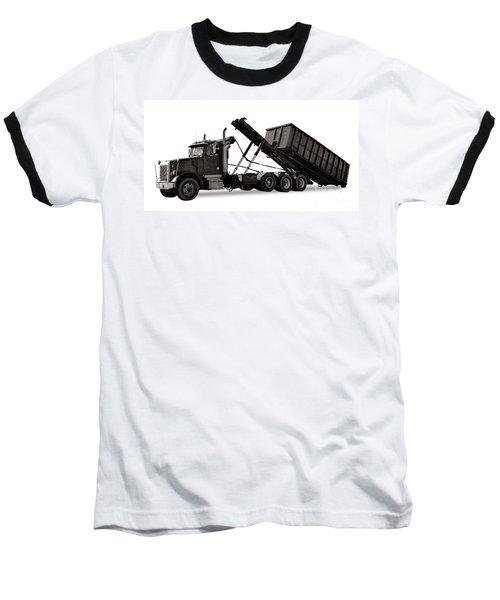 Roll Off Truck  Baseball T-Shirt