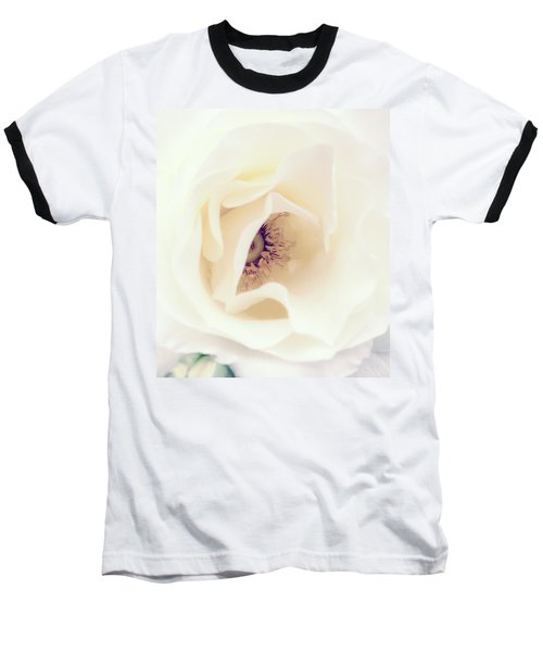 Romance In A Rose Baseball T-Shirt by Spikey Mouse Photography