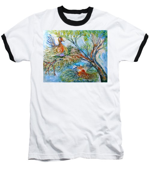 Room With A View Baseball T-Shirt