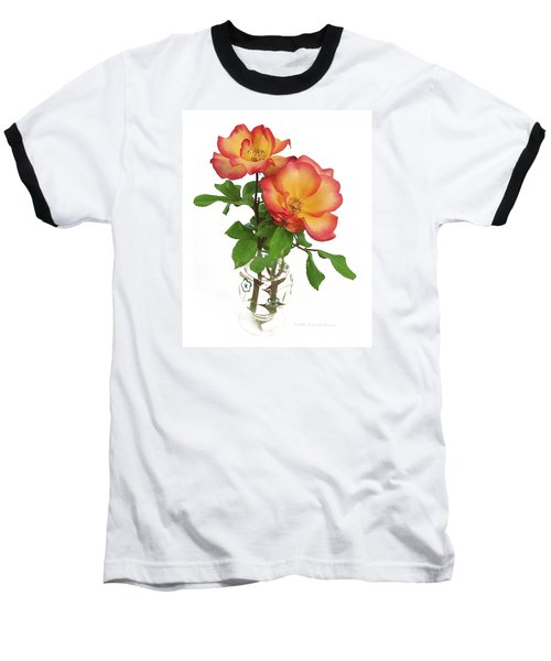 Rose 'playboy' Baseball T-Shirt