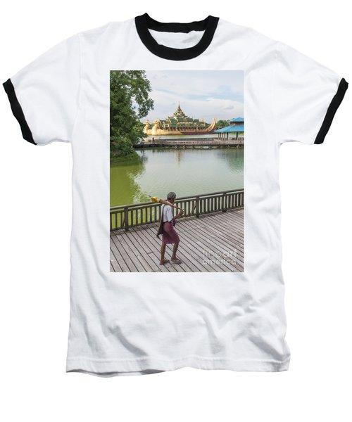 Royal Barge In Yangon Myanmar  Baseball T-Shirt