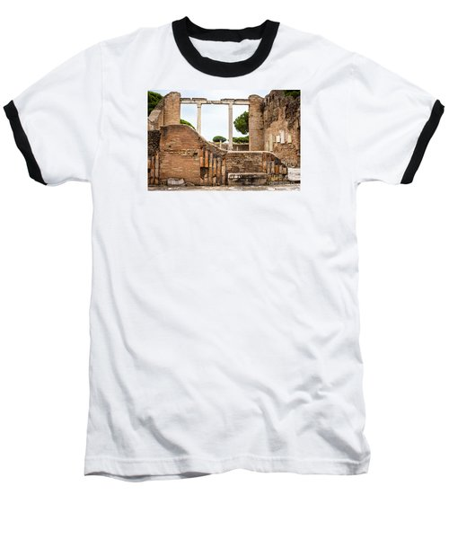 Ruins Of Ostia Antica Baseball T-Shirt
