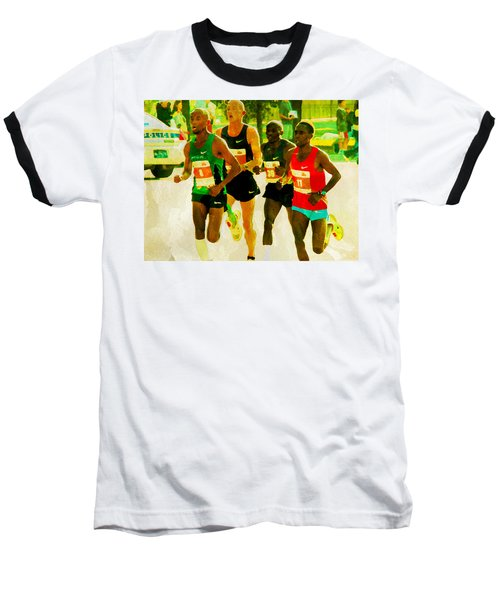 Runners Baseball T-Shirt