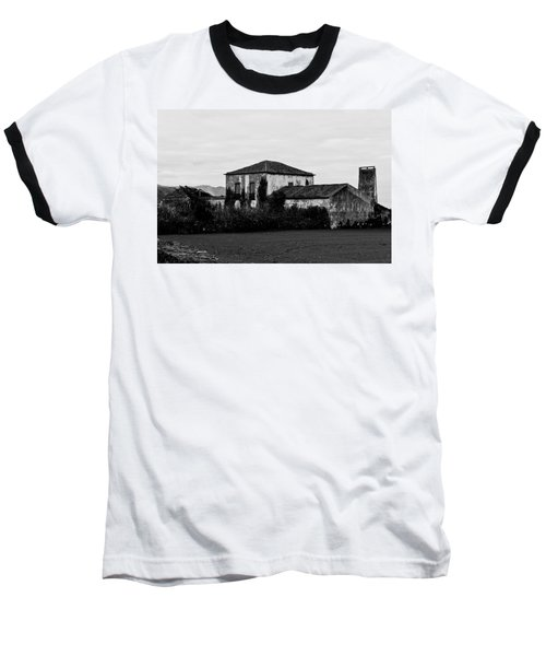 Rustic Outbuildings In A Field  Baseball T-Shirt