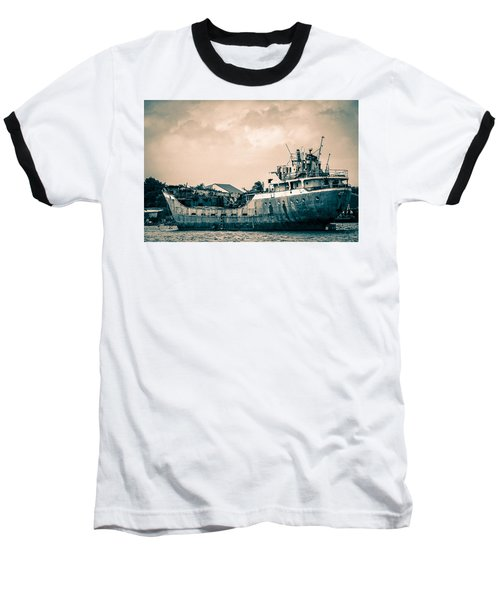 Rusty Ship Baseball T-Shirt