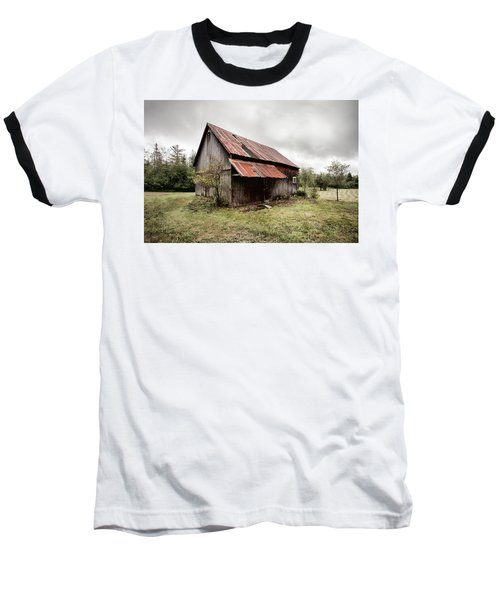 Rusty Tin Roof Barn Baseball T-Shirt