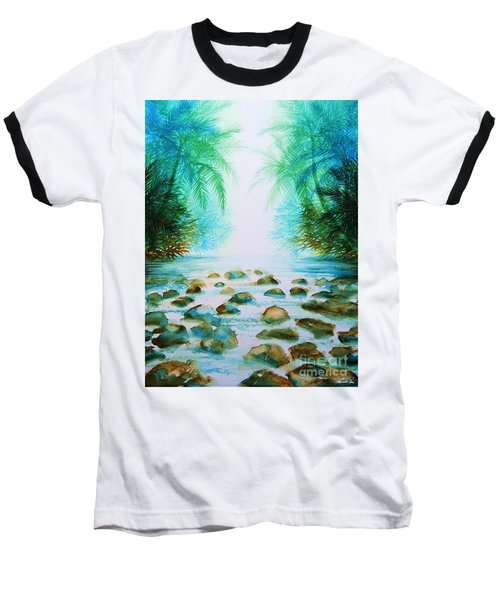 Sacred Pools Baseball T-Shirt
