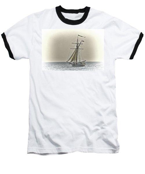 Sailing Off Baseball T-Shirt