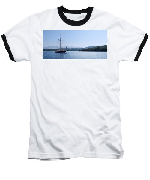 Sailing Ship In The Adriatic Islands Baseball T-Shirt