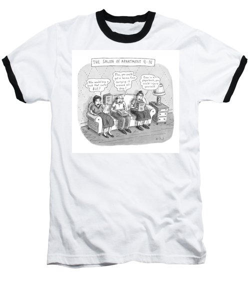 Salon Of Apartment 4-n Baseball T-Shirt