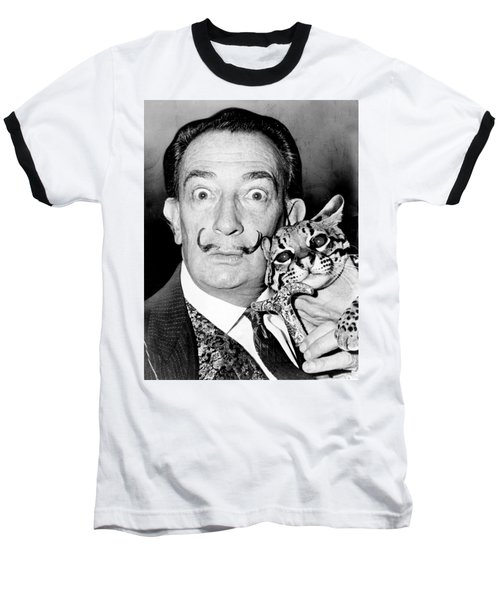 Salvador Dali Baseball T-Shirt