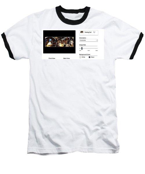 Sample Greeting Card Baseball T-Shirt