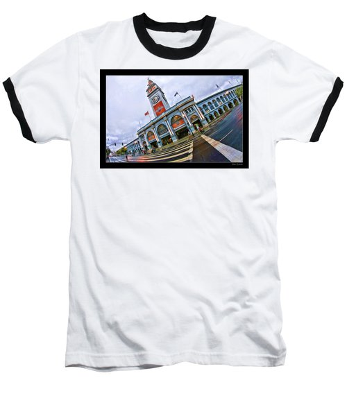 San Francisco Ferry Building Giants Decorations. Baseball T-Shirt