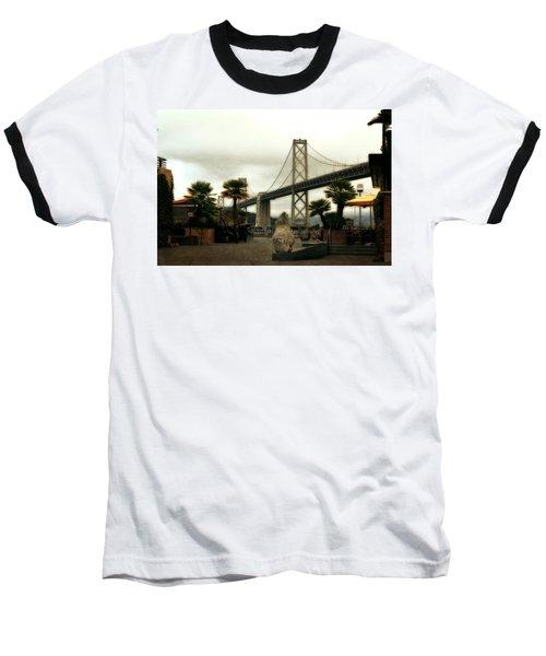 San Francisco Oakland Bay Bridge Baseball T-Shirt