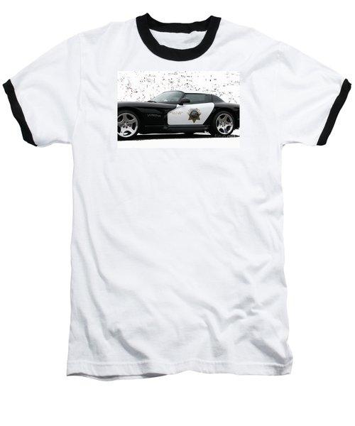 San Luis Obispo County Sheriff Viper Patrol Car Baseball T-Shirt