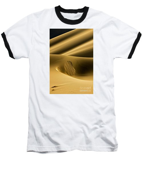 Sand Avalanche Baseball T-Shirt by Michael Cinnamond