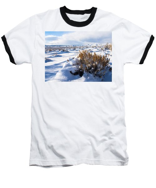 Sand Wash Basin In The Winter Baseball T-Shirt by Nadja Rider