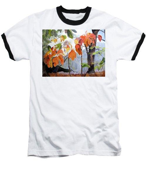 Sassafras Trees On The Ridge Baseball T-Shirt