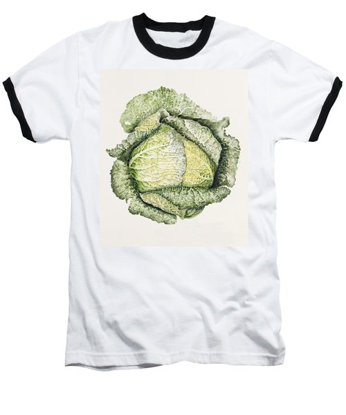 Savoy Cabbage  Baseball T-Shirt