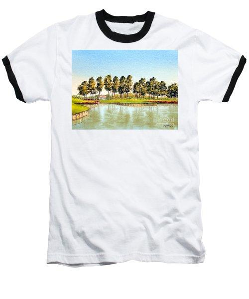 Sawgrass Tpc Golf Course 17th Hole Baseball T-Shirt
