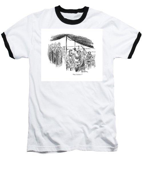Say 'aachen.' Baseball T-Shirt