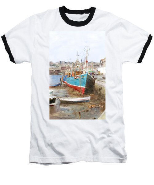 Scarborough Harbour Baseball T-Shirt