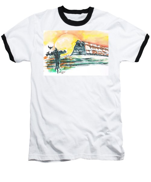 Scarecrow Welcomes The Morning Baseball T-Shirt