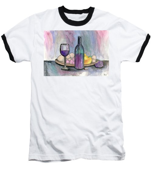 Scene From An Italian Restaurant Baseball T-Shirt