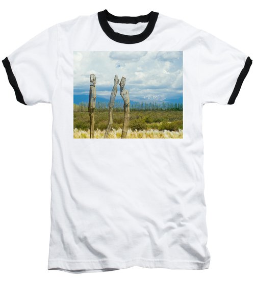 Sculpture In The Andes Baseball T-Shirt
