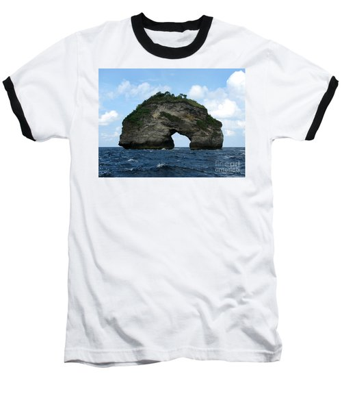 Baseball T-Shirt featuring the photograph Sea Gate by Sergey Lukashin