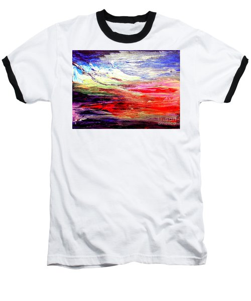 Sea Sky I Baseball T-Shirt