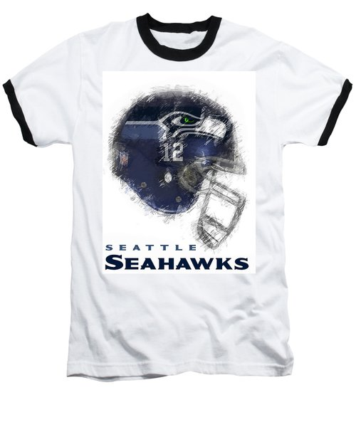 Seahawks 12 Baseball T-Shirt