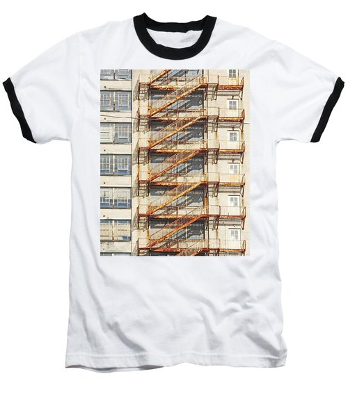 Sears Crosstown Fire Escape Memphis Tn Baseball T-Shirt