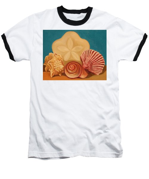 Seashells Baseball T-Shirt