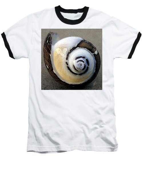 Seashells Spectacular No 3 Baseball T-Shirt by Ben and Raisa Gertsberg