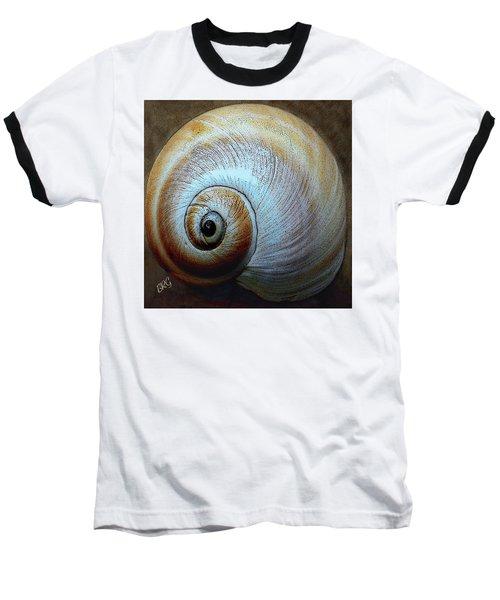 Seashells Spectacular No 36 Baseball T-Shirt by Ben and Raisa Gertsberg