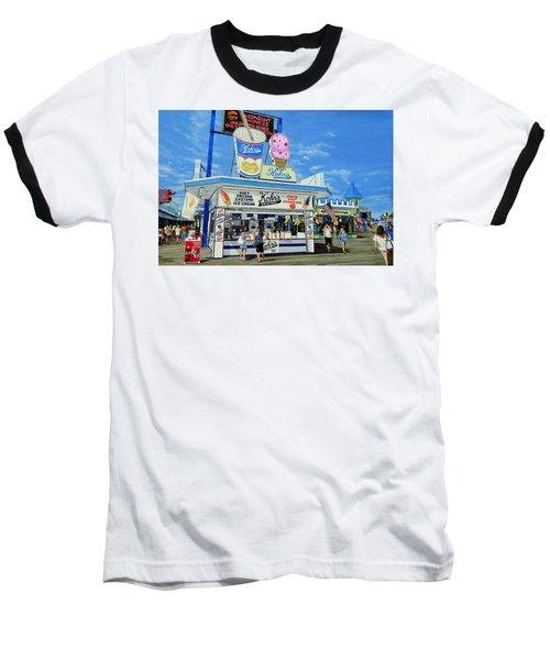 Seaside Memories Baseball T-Shirt