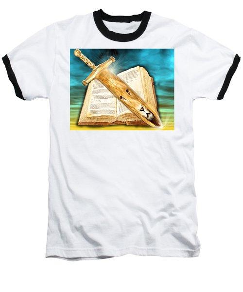 Seasons Of The Sword Baseball T-Shirt