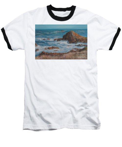 Seaspray Baseball T-Shirt by Valerie Travers