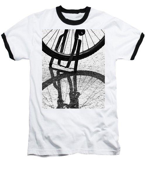 Semi-circles Baseball T-Shirt