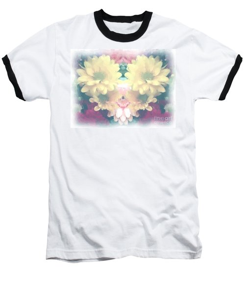 Baseball T-Shirt featuring the photograph Serene Zinnias by Luther Fine Art