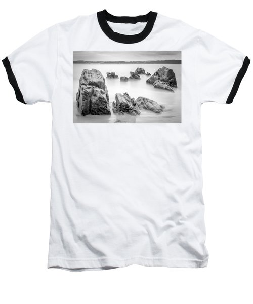 Baseball T-Shirt featuring the photograph Seselle Beach Galicia Spain by Pablo Avanzini