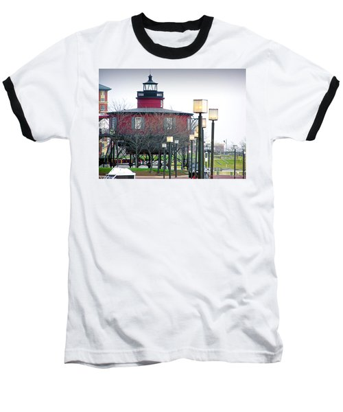 Baseball T-Shirt featuring the photograph Seven Foot Knoll Lighthouse by Brian Wallace